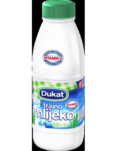 Dukat trajno mlijeko, 0,5 % m.m., 1 l