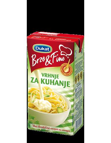 Brzo & Fino vrhnje za kuhanje, 500 g