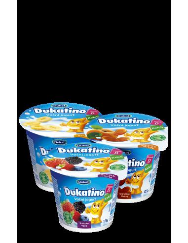 Dukatino voćni jogurt mix, 125 g