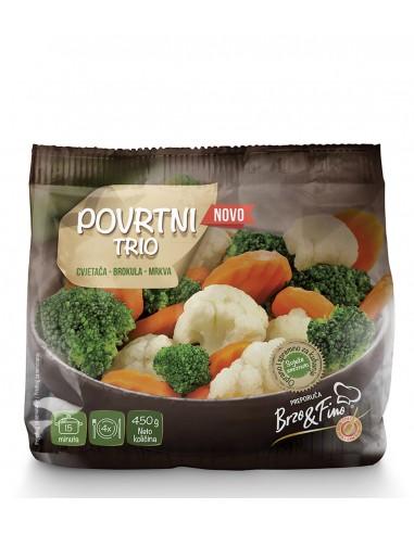 Povrtni trio, cvjetača-brokula-mrkva
