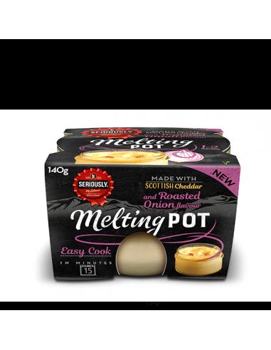 Seriously Melting Pot, cheddar...