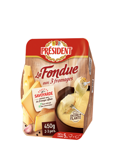 President La Fondue aux 3 fromages,...