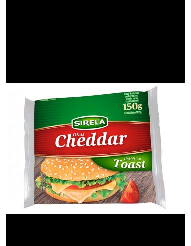 Sirela topljeni sir u listićima, okus...