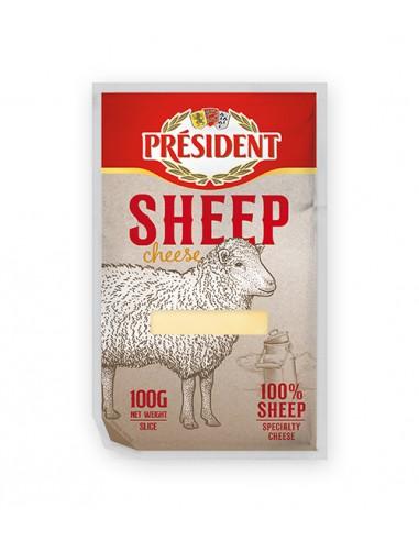 President ovčji sir, narezan, 100 g